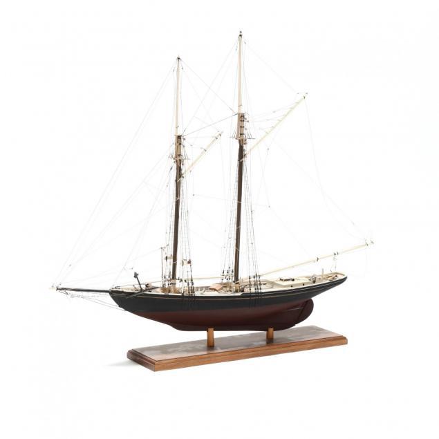 benjamin-w-latham-model-ship