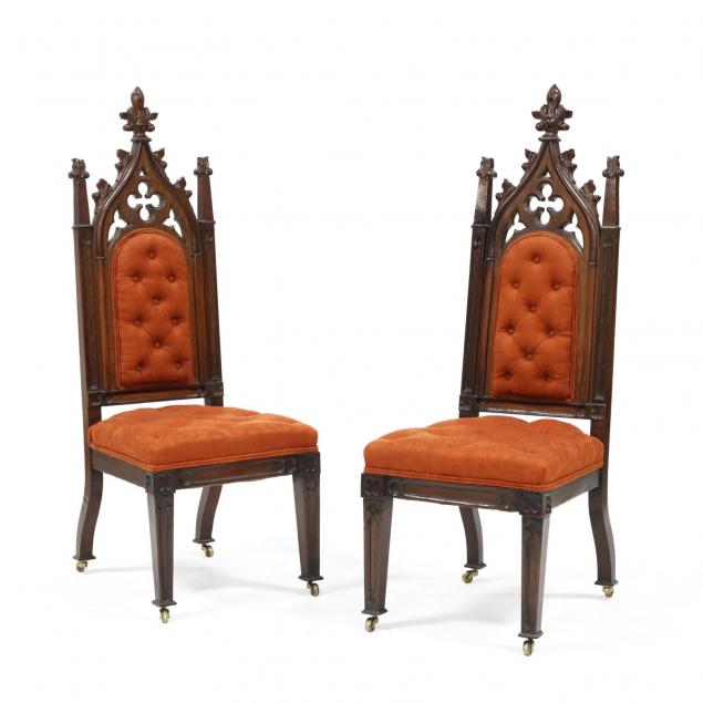 pair-of-gothic-revival-side-chairs