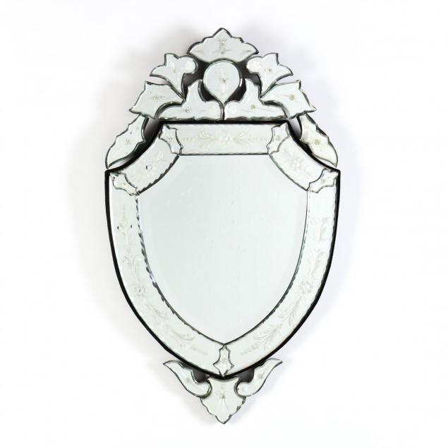 venetian-shield-shaped-mirror