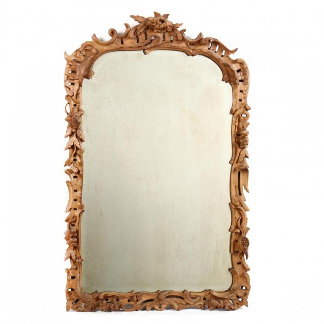 rococo-style-carved-and-beveled-mirror