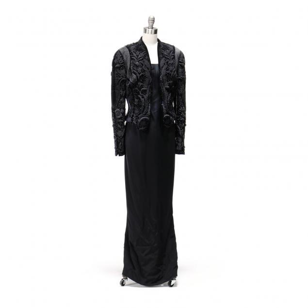beaded-dinner-jacket-jil-sander-with-pencil-dress