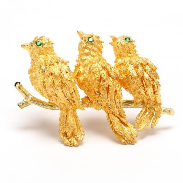 18kt-gold-brooch