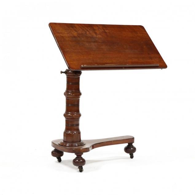 william-iv-mahogany-adjustable-reading-stand