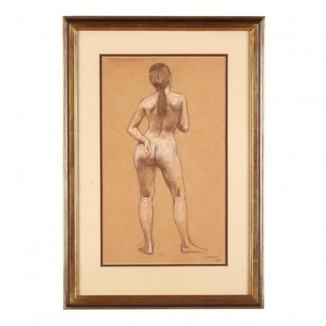 w-a-matt-american-20th-century-standing-female-nude
