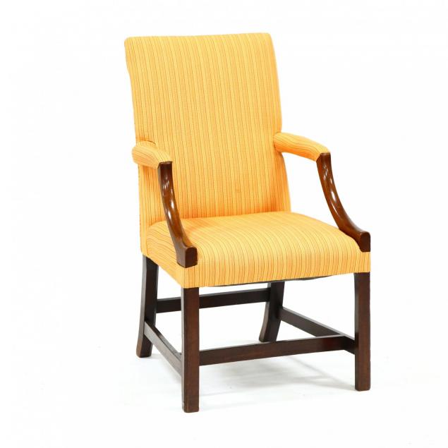chippendale-mahogany-lolling-chair