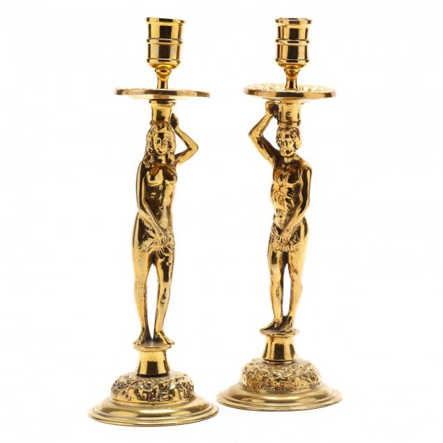 adam-and-eve-cast-brass-candlesticks