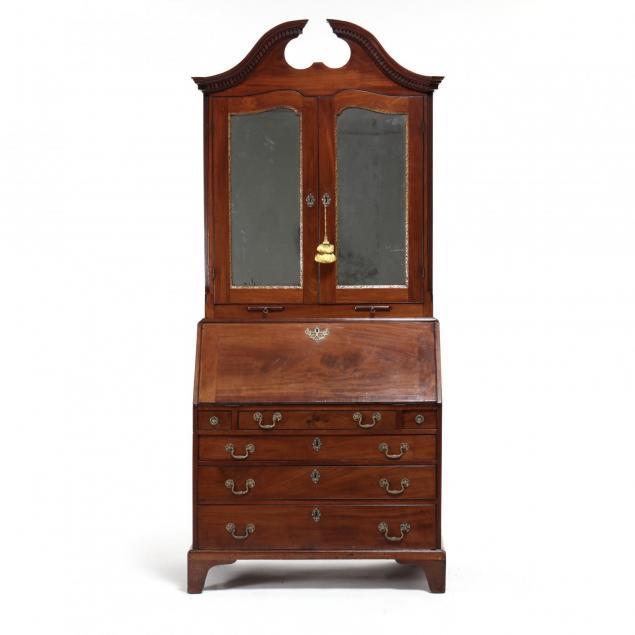 george-iii-mahogany-secretary-bookcase