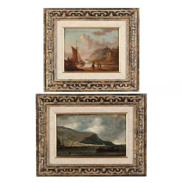 two-19th-century-maritime-views-one-by-peter-la-cave