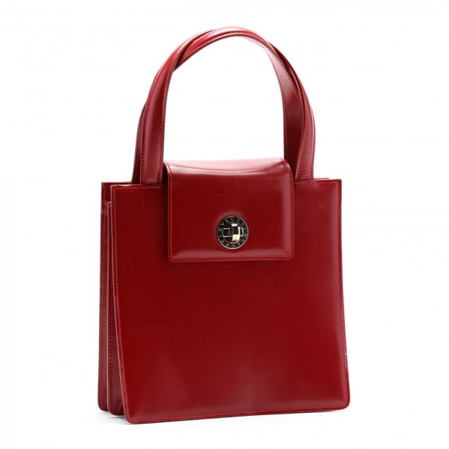 a-red-leather-satchel-bag-bvlgari