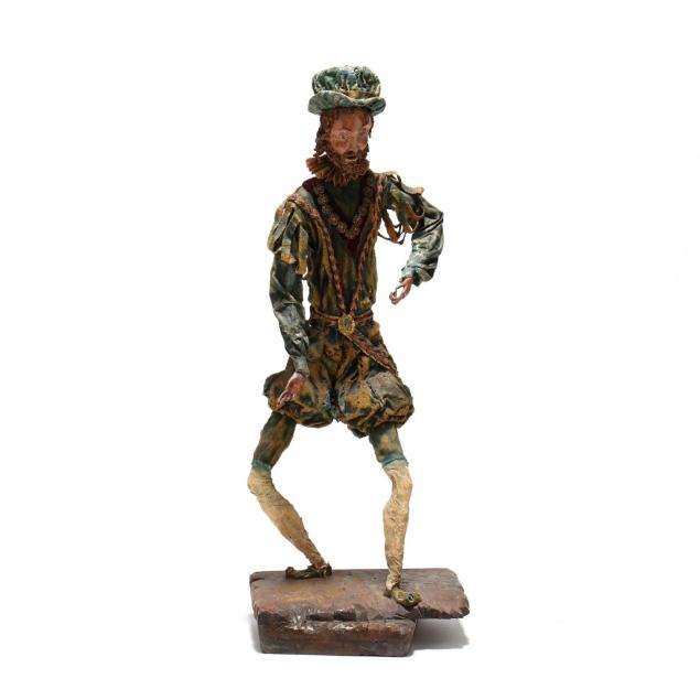 vintage-mache-figure-of-don-quixote