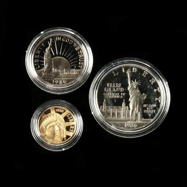 1986-statue-of-liberty-centennial-three-coin-proof-set