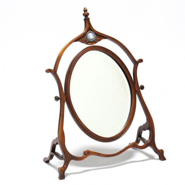 edwardian-mahogany-beveled-dressing-mirror