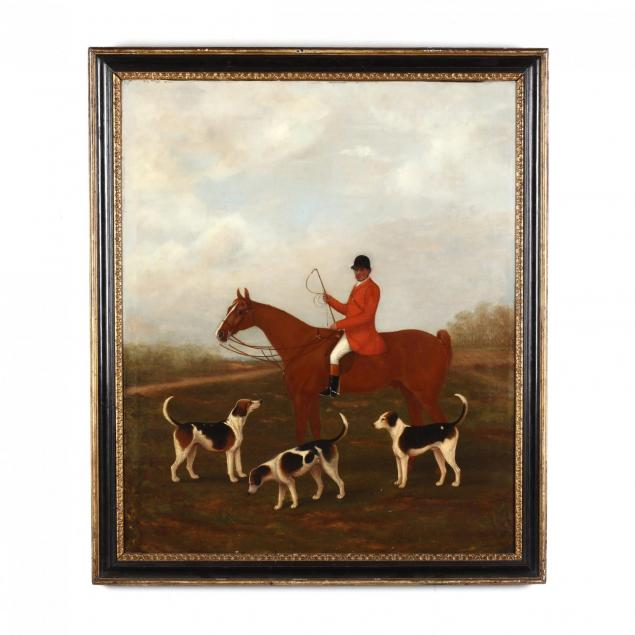 english-school-portrait-of-a-huntsman-and-hounds