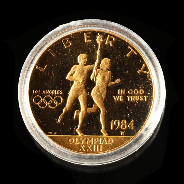 1984-w-10-los-angeles-xxiii-olympiad-proof-gold-coin