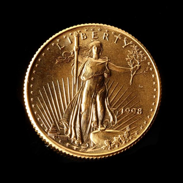 1998-uncirculated-10-gold-american-eagle
