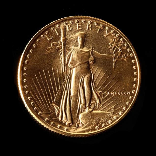 1986-uncirculated-25-gold-american-eagle