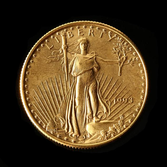 1993-uncirculated-25-gold-american-eagle