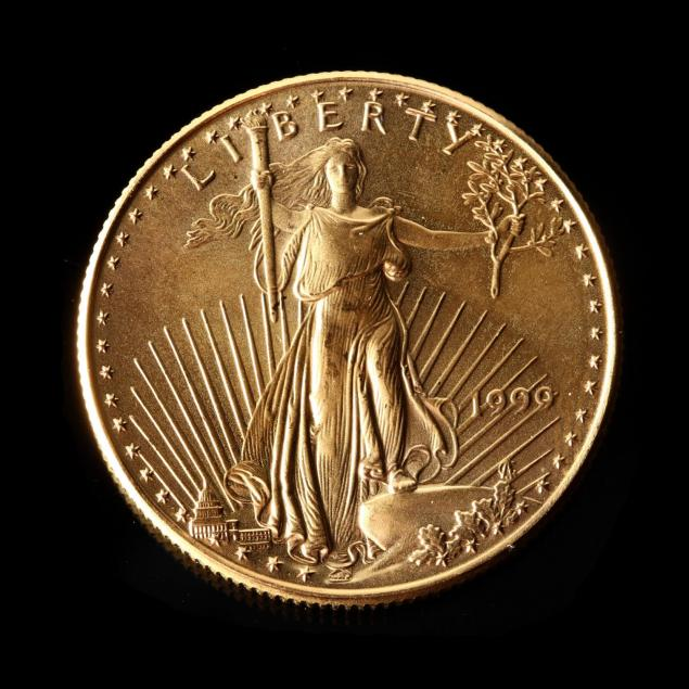 1999-uncirculated-25-gold-american-eagle