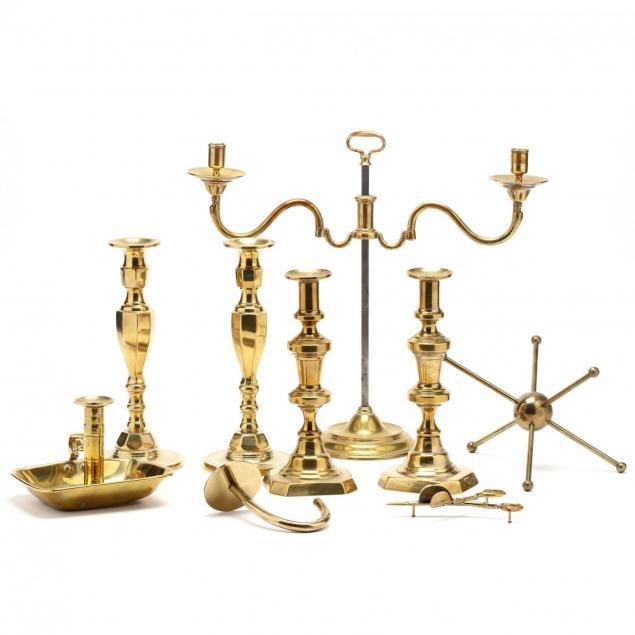 antique-and-vintage-brass-grouping