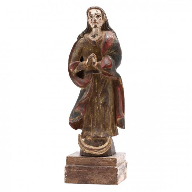 spanish-carved-and-polychrome-painted-figure-of-the-madonna