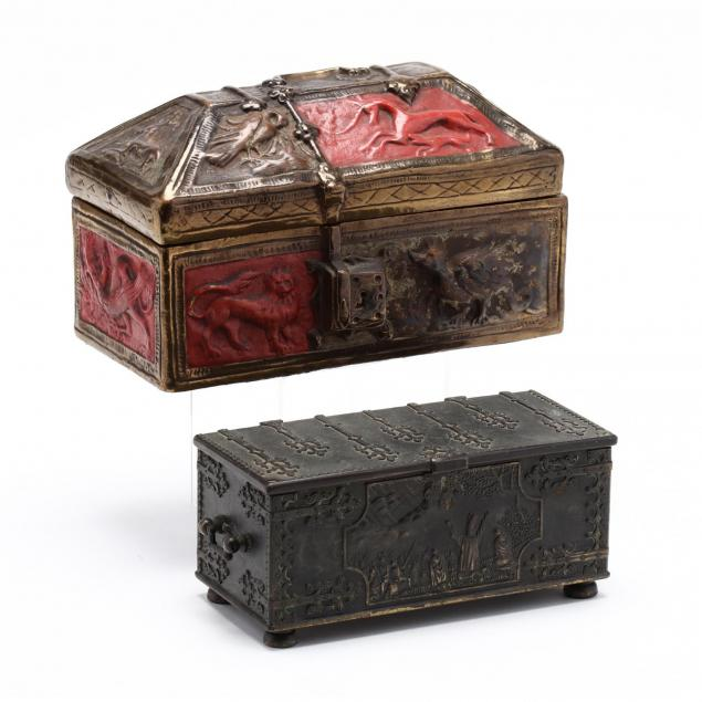two-decorative-table-top-boxes