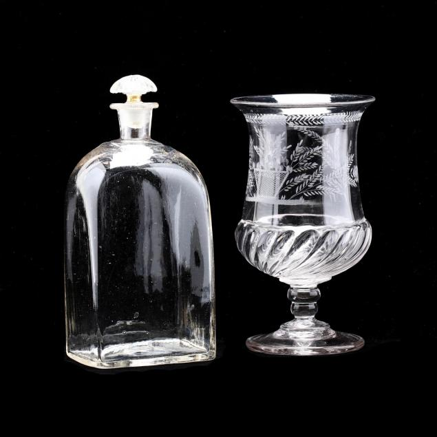 two-pieces-of-18th-century-glass