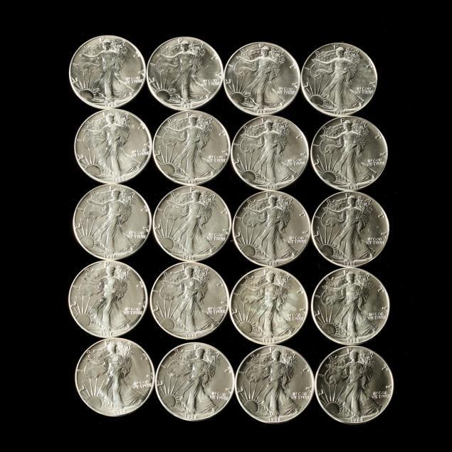 roll-of-twenty-bu-1-american-silver-eagles