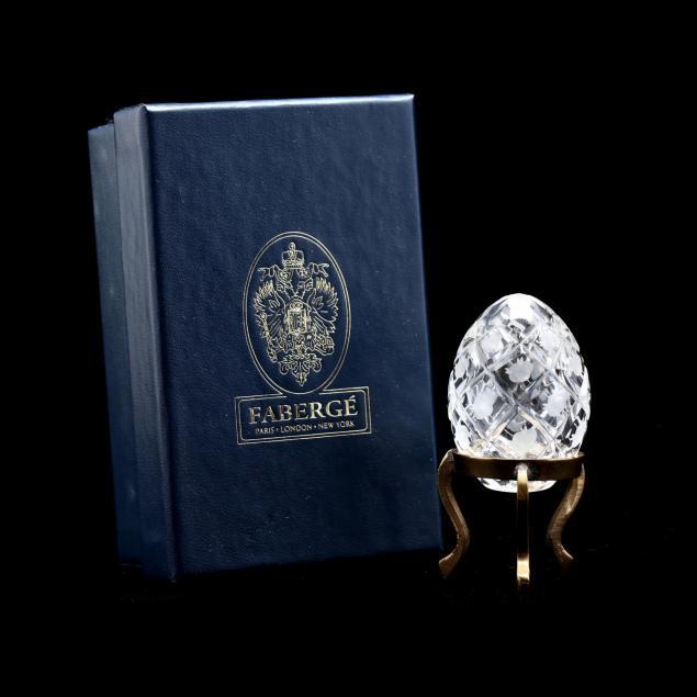 faberge-rose-trellis-crystal-petite-egg-on-stand