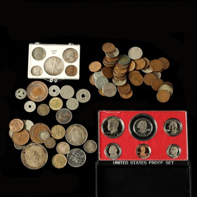 mixed-group-of-u-s-and-world-coins