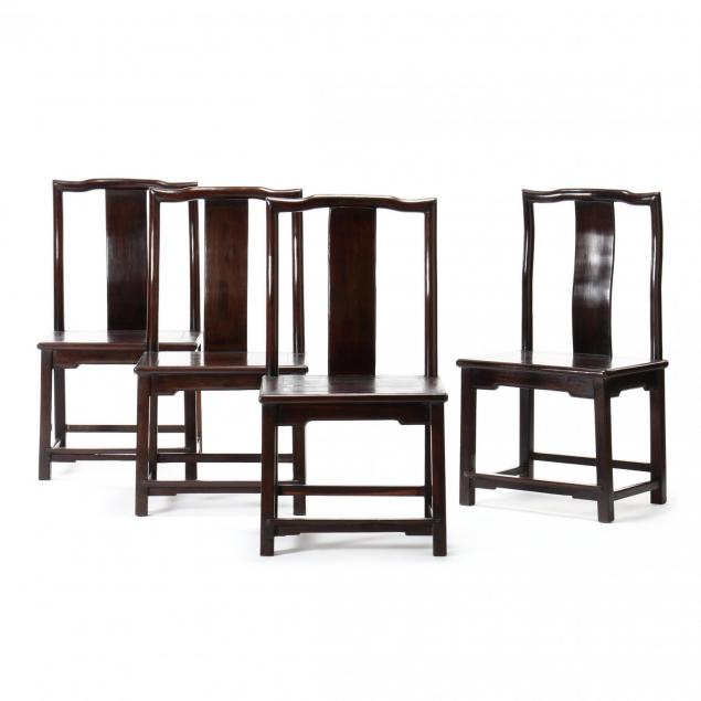 a-set-of-four-chinese-southern-official-s-hat-side-chairs