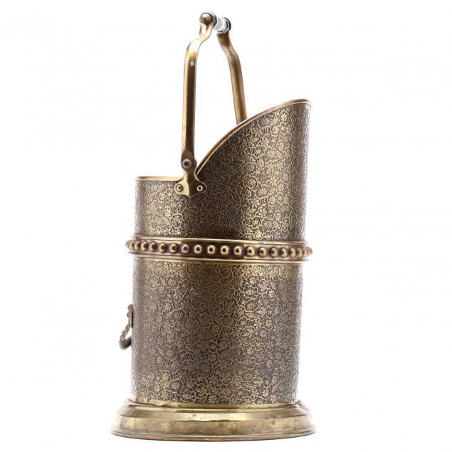 vintage-brass-coal-bucket