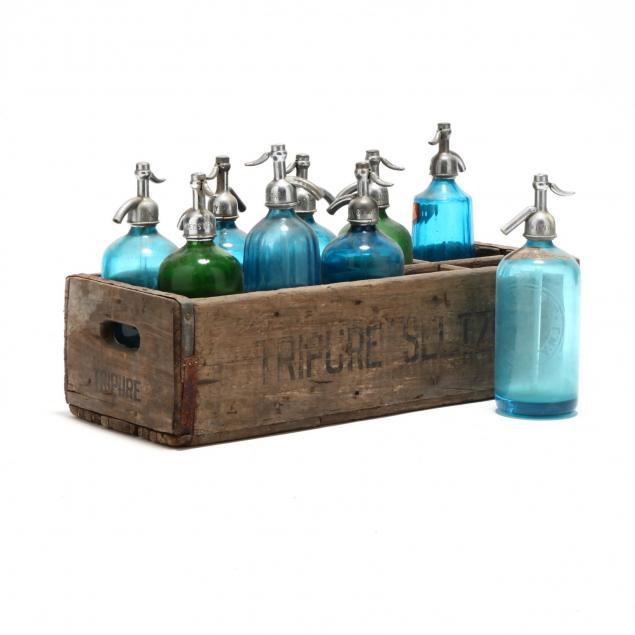 vintage-seltzer-bottle-collection