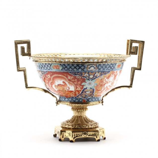 maitland-smith-ormolu-mounted-imari-center-bowl
