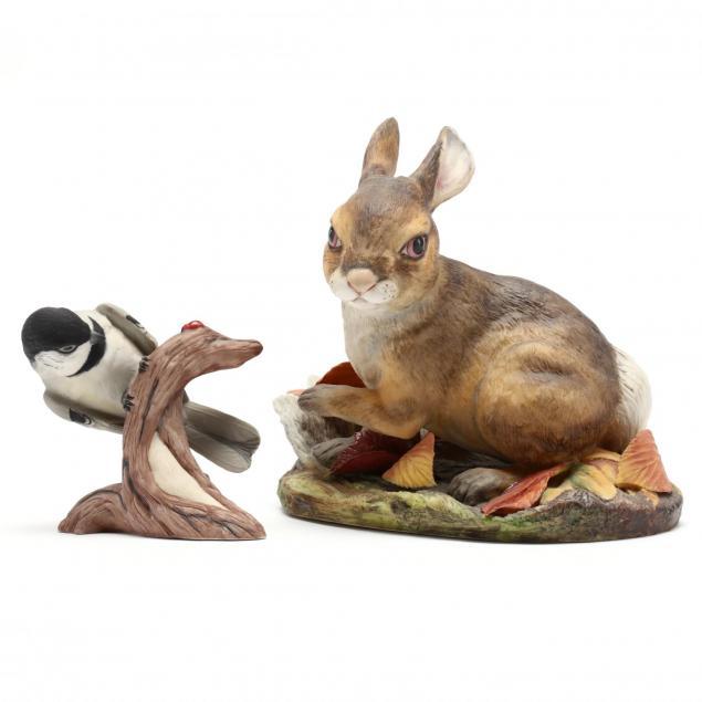 boehm-two-wildlife-sculptures