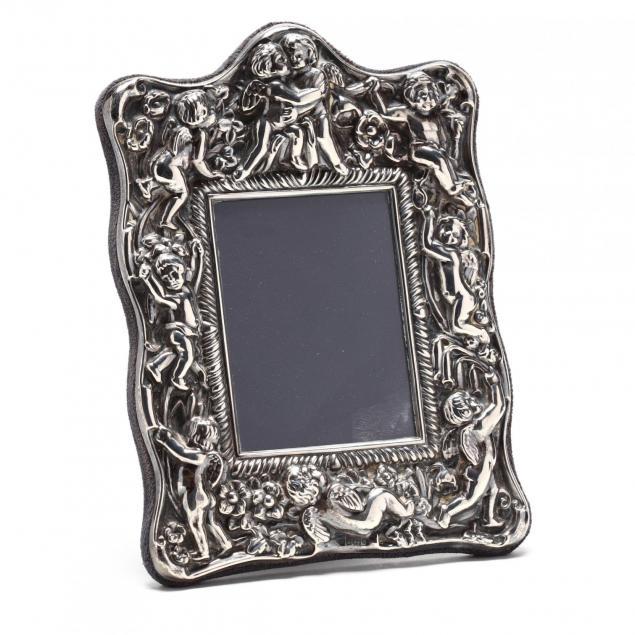 an-elizabeth-ii-silver-picture-frame