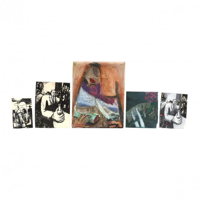 jack-stratton-nc-b-1953-five-original-works