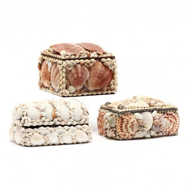 three-shell-decorated-boxes