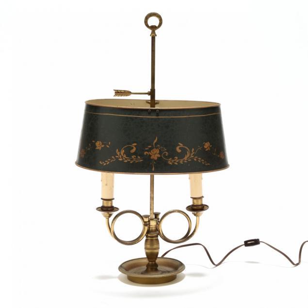 vintage-trumpet-form-bouillotte-table-lamp