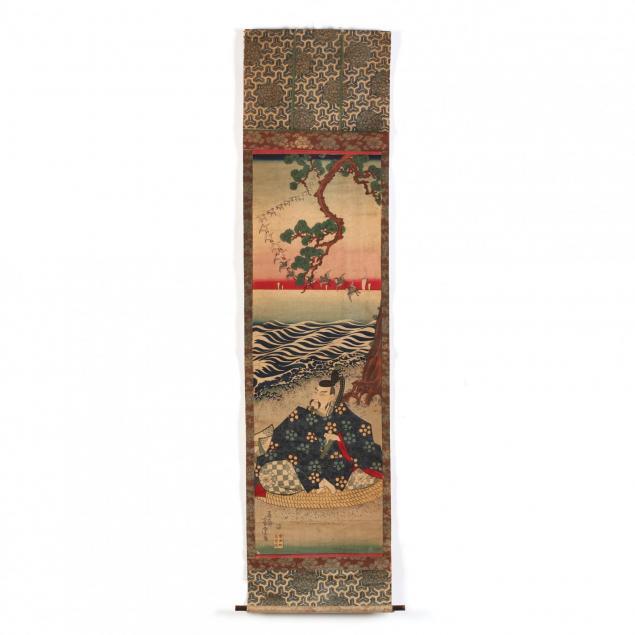 a-kakemono-e-japanese-hanging-print-by-utagawa-yoshitora-active-1850-80