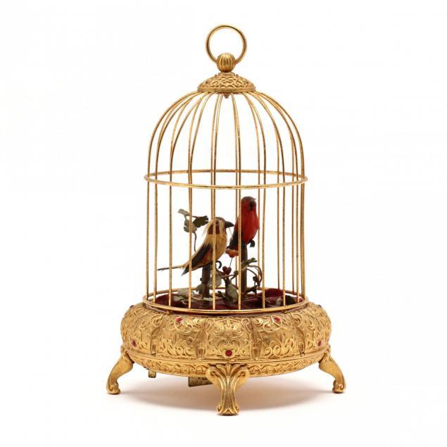 german-automaton-bird-cage