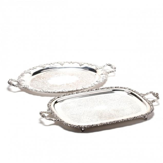 two-vintage-georgian-style-silverplate-trays
