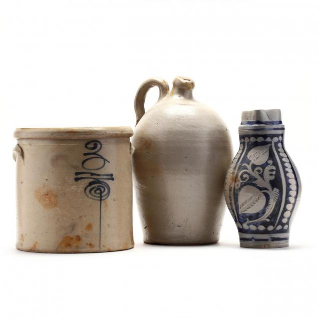 three-stoneware-vessels