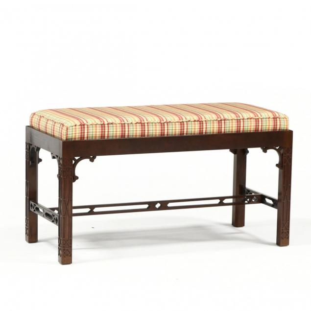 baker-chinese-chippendale-style-bench