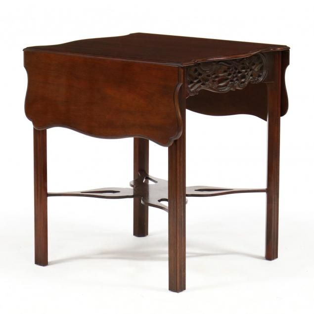 baker-historic-charleston-reproduction-chippendale-style-tea-table