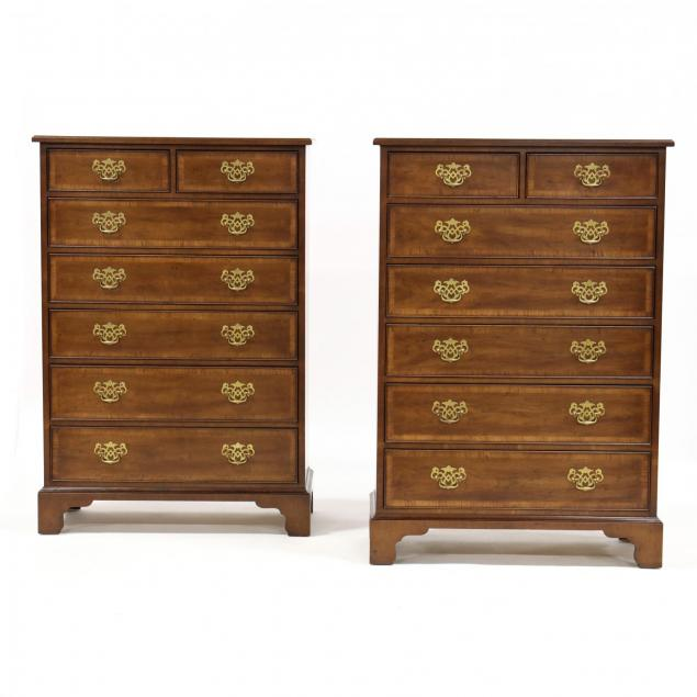henredon-i-18th-century-portfolio-i-pair-of-semi-tall-chests-of-drawers