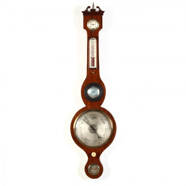 george-iii-mahogany-wheel-barometer