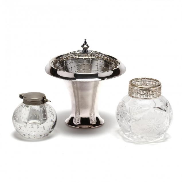 three-glass-desk-accessories