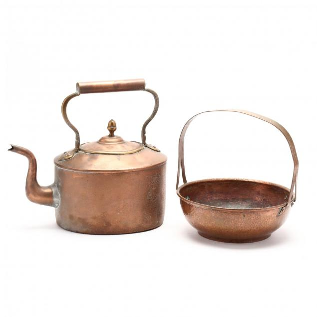 antique-copper-tea-kettle-and-basket