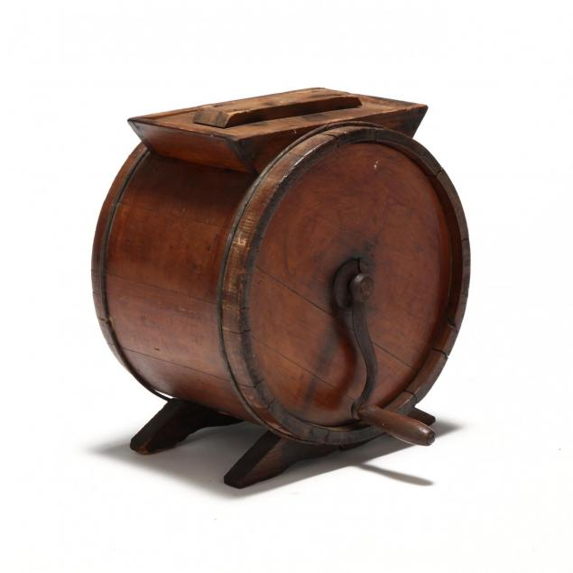 19th-century-new-england-butter-churn