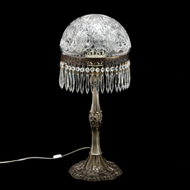 vintage-cut-glass-and-silverplate-table-lamp